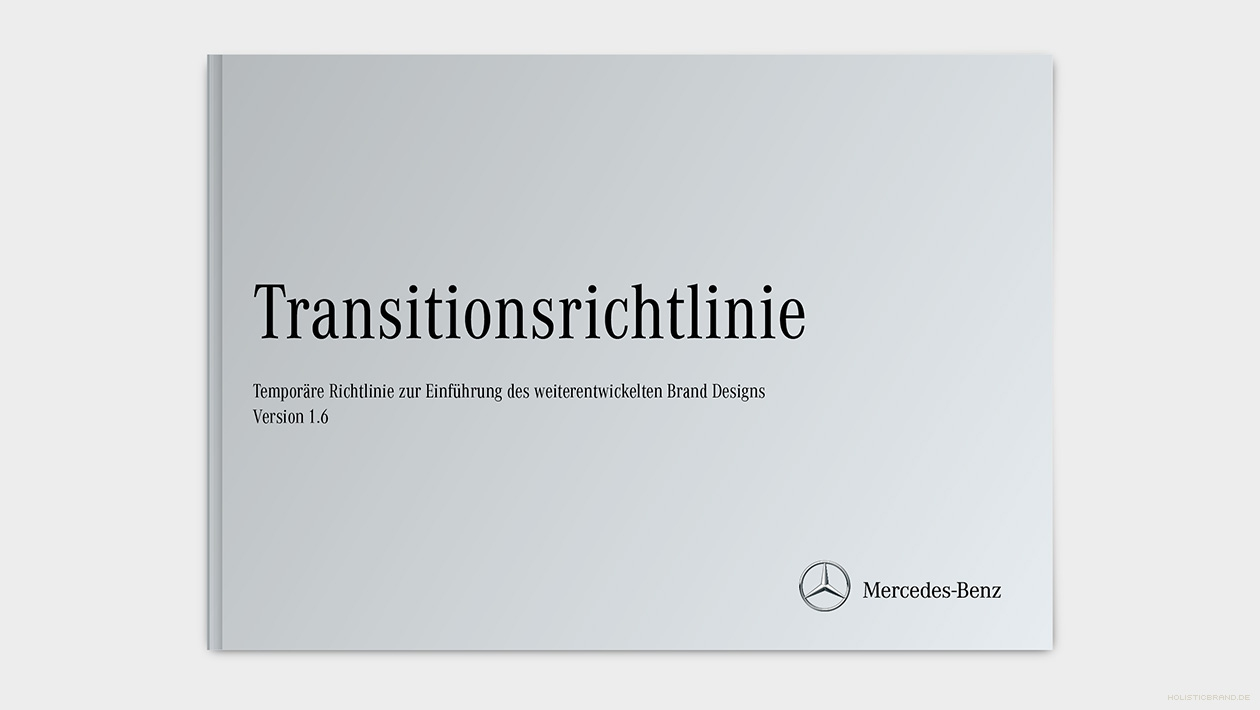 Layout des Titels der Transitionsrichtlinie